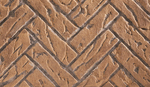 Buff Herringbone Ceramic Brick Liner Kit
