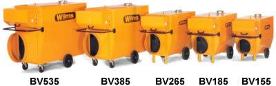 BV Series Lineup (BV155 - BV 535)