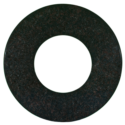 black mahogany granite top