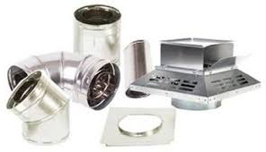 Direct Vent Pipe 4.5 x 7.5 Secure Flex Vent Pipes and Kits Chimney Venting for Superior, Lennox, IHP, Astria Fireplaces