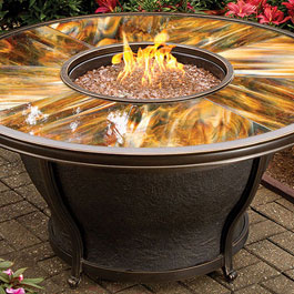 Sierra Series Outdoor Gas Fire Pit Tables