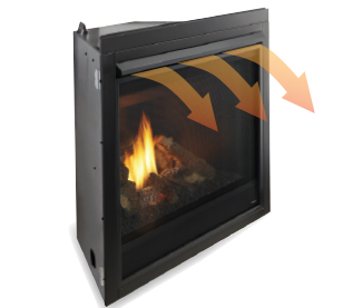 GFK-160A Blower Fan Kit for Majestic Direct Vent Fireplaces.