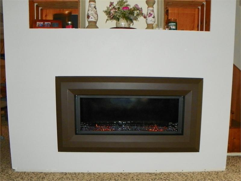Fireplace Design linear fireplace gas : Superior 43