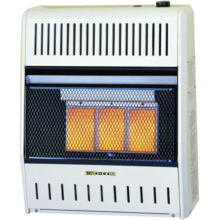 Mnsd3tpa 18 000 Btu Procom Infrared Plaque Thermostat
