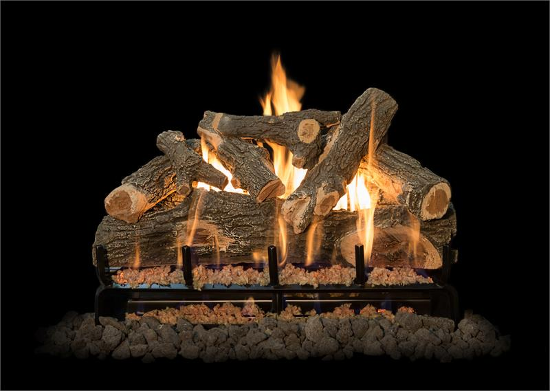 Grand Canyon Arizona Weathered Oak Vented Gas Log Sets