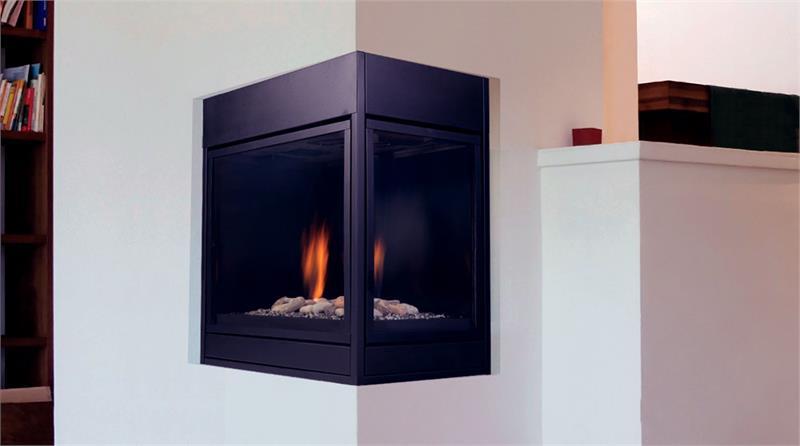Pearl Designer Series Direct Vent 36 Quot Corner Fireplaces