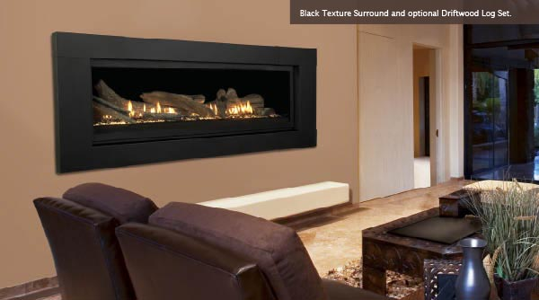 Linear Aura 70 Quot Direct Vent Natural Gas Linear Fireplace