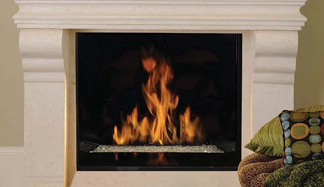 Contemporary Direct Vent 45 Signature Series Fireplace by