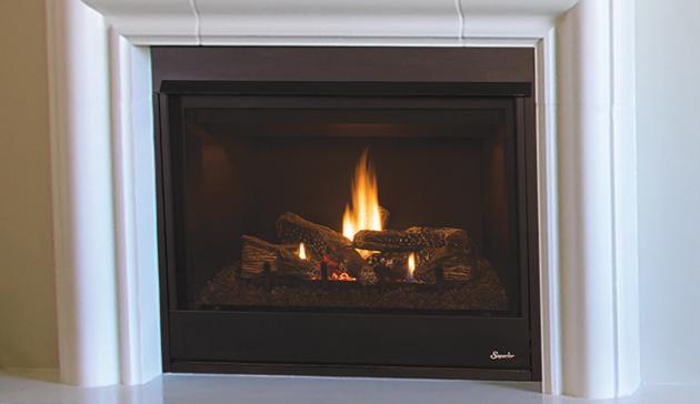 Superior 45 Efficient Indoor Direct Vent Gas Fireplace Drt3045 Drt3000 Series