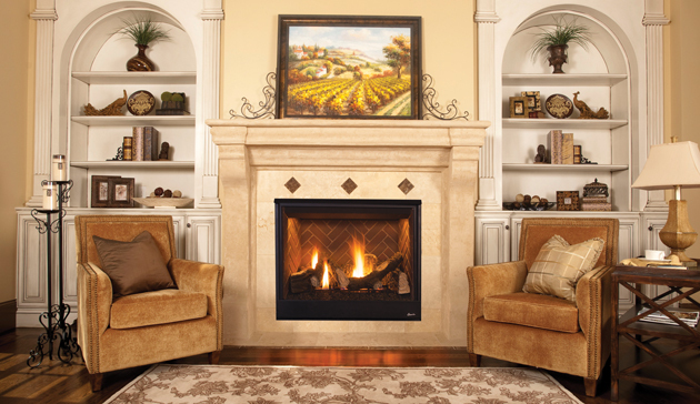 "Direct Vent Superior Pro Series 45"" Indoor Gas Fireplace. DRT3500 Pro Series direct-vent gas fireplace offers the ultimate in style and performance. Standard features"