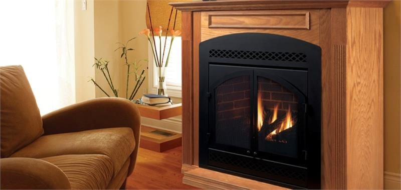 Majestic Cost Effective 33 Direct Vent Gas Fireplace DVB