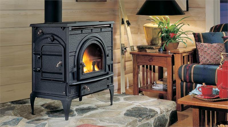 Catalytic Wood Burning Monessen Dutchwest Cast Iron Stove