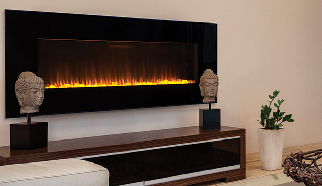 "Electric Linear 60"" Superior Fireplace ERC4000 ERC4060"