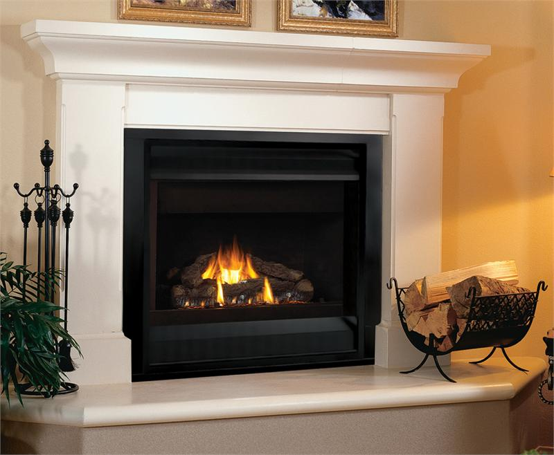 Superior drt2000 value series 33 direct vent gas fireplace for Vantage hearth