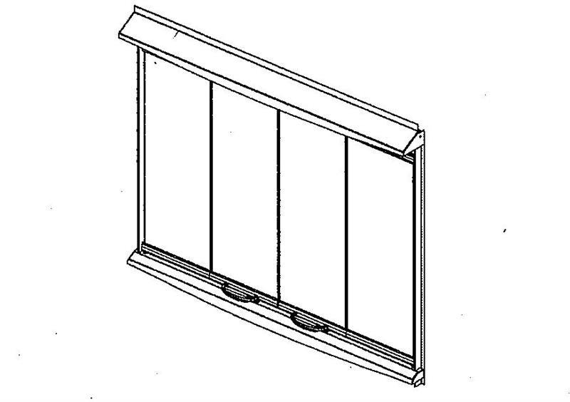 Bi Fold Glass Doors For Outdoor Superior Fireplace 36lbfod Bs H4645