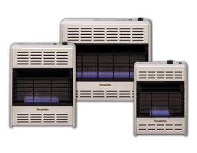Hearthrite Vent Free 10 000 Btu Thermostat Blue Flame Heater