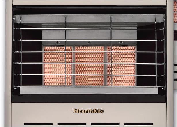 Hearthrite Vent Free 15 000 Btu Manual Infrared Heater