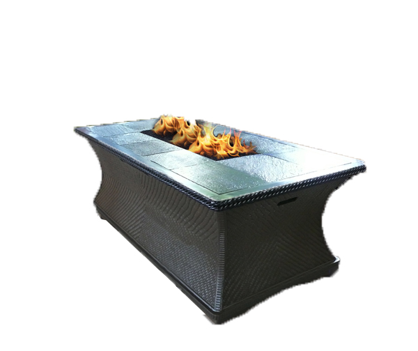 Outdoor Gas Fire Pit Coffee Table Monterey Series