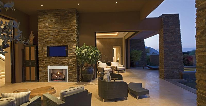 outdoor stainless steel vent free fireplace systems 42 vre3042 by
