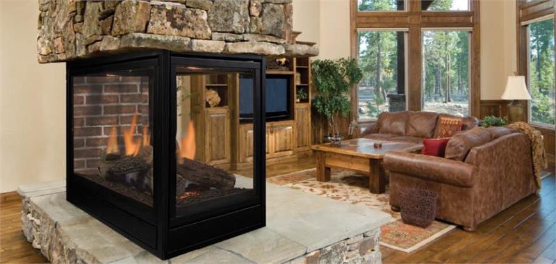 Pearl Designer Series Direct Vent 36 Quot Peninsula Fireplaces