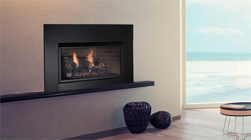 Vent Free Complete Fireplace Traditional Insert Solstice