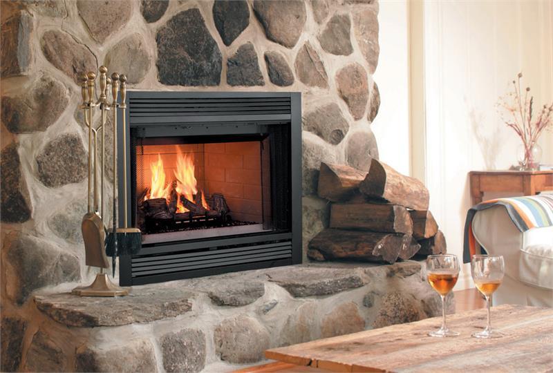 Sovereign Wood Burning Fireplace Monessen 36 Circulating Face SA36C