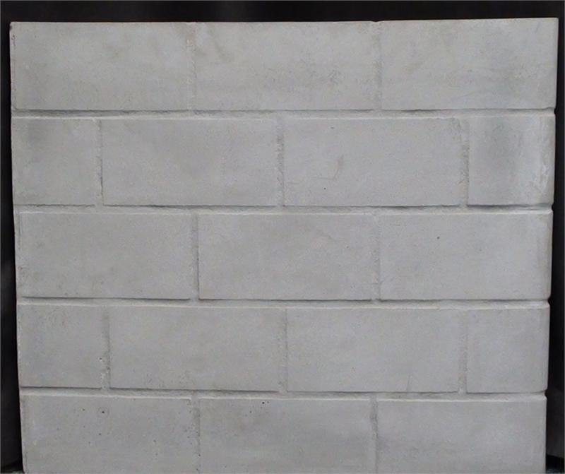 Universal Fireplace Replacement Stack Brick Refractory Panel