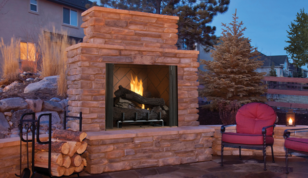 Outdoor Vent Free Gas Firebox Superior Signature Series 50