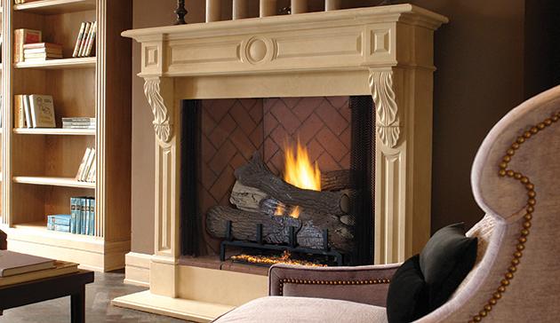 ... Vent Free Gas Fire Box Superior VRT4500 - Vent Free 42