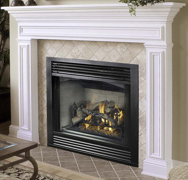 vdvc36 direct vent fireplace chassis versafire