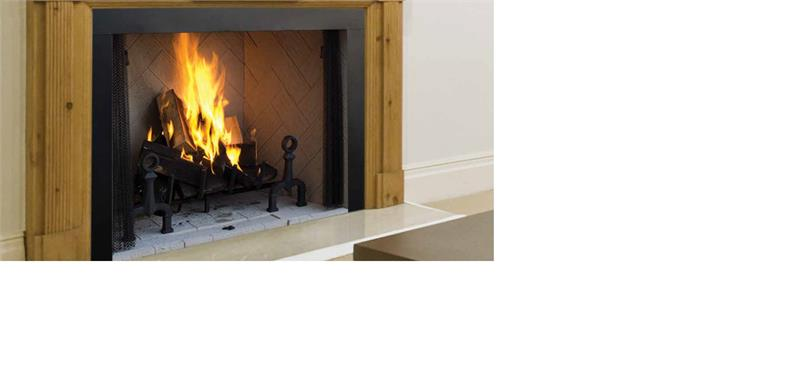 Superior FMI Custom Series Georgian Indoor Wood Burning Fireplace ...