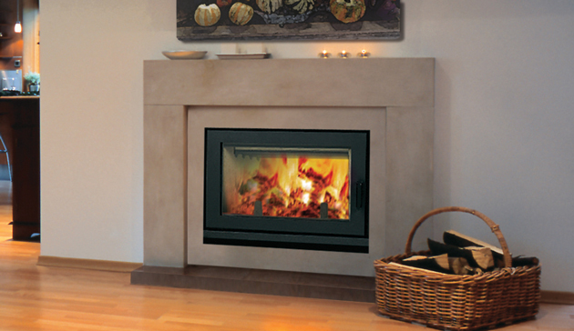 EPA Certified Clean Face Modern Wood Burning Superior Fireplace WRT4820. Featuring a sleek