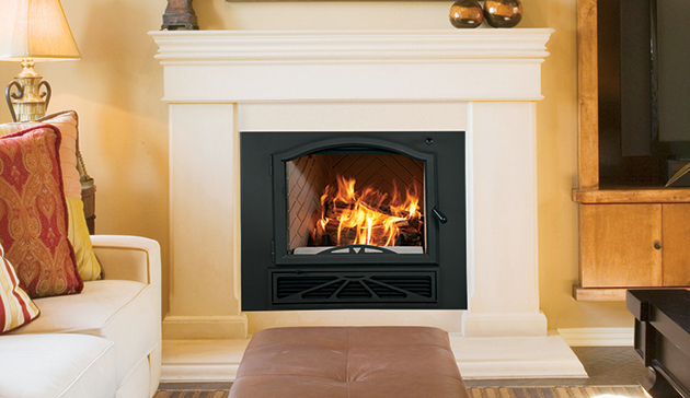 EPA Phase II-Certified Fireplace with Powerful Catalytic Heating ...