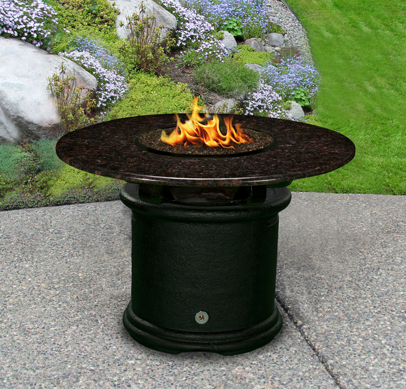 Fire Pit Table Del Mar Dining Height Multifunctional