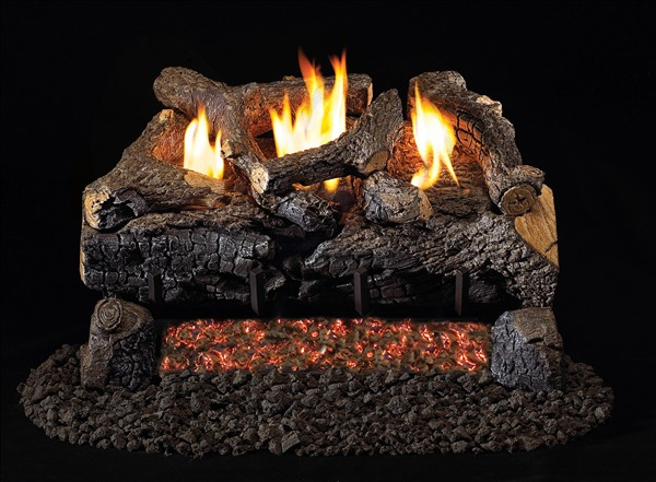 Rh Peterson 24 Quot Evening Fyre Charred Vent Free Gas Log Set