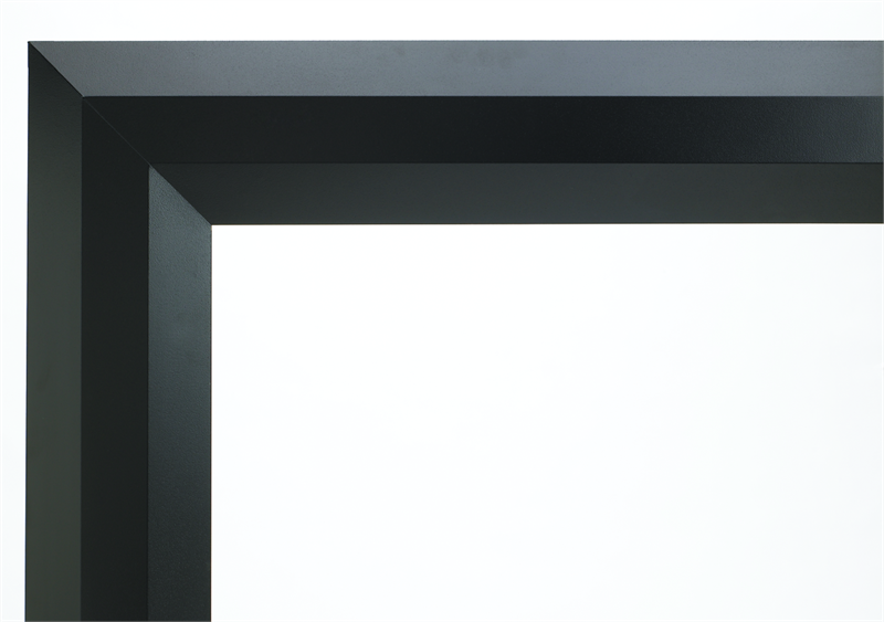 "Decorative Face Trim for 43"" Linear Superior Fireplace in Black DFT43B F1036. Add this option decorative face trim to finish off your fireplace look."