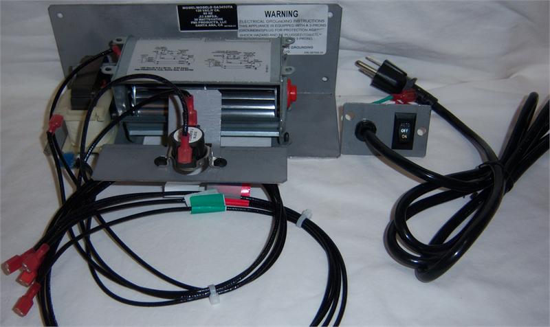Ga3450ta Thermostat Blower Fan Kit J1281