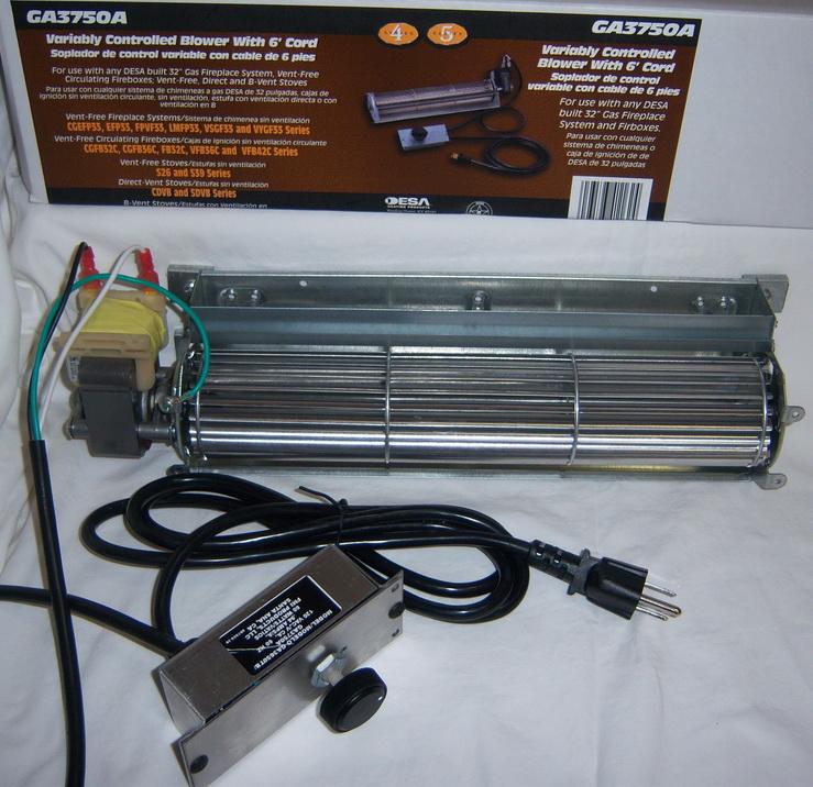 Fireplace Design fireplace fan : GA3750A Blower Fan 00983 CBK-UVC CDA3620T B GA3500A GA3700 GA3700A ...