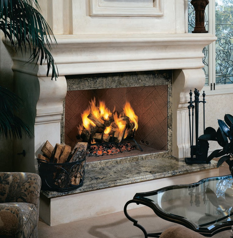 "WRT4850 50"" Superior Custom Series PureFire™ Wood Burning Fireplace"