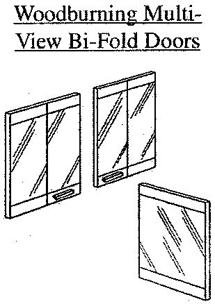 Bi Fold Corner Glass Doors For Wood Burning Corner Fireplace Vd36rs
