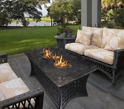 Outdoor Fire Pit Coffee Table La Costa Del Rio With