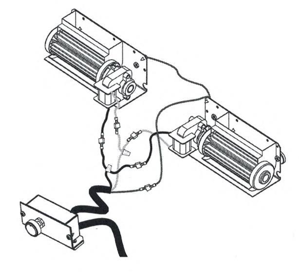 Lpdbk Fmi Low Profile Dual Blower Kit F1084
