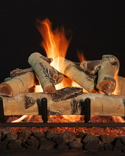 Grand Canyon Quaking Aspen Vented Gas Log Sets With 2