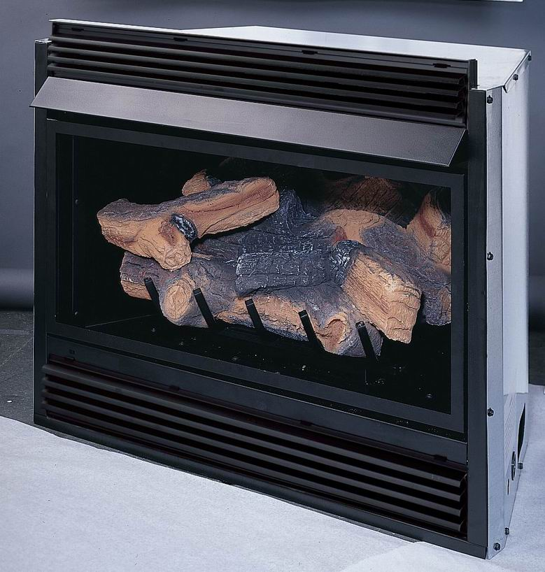 VCI3032 Superior Vent Free Gas Fireplace Insert with Logs Remote