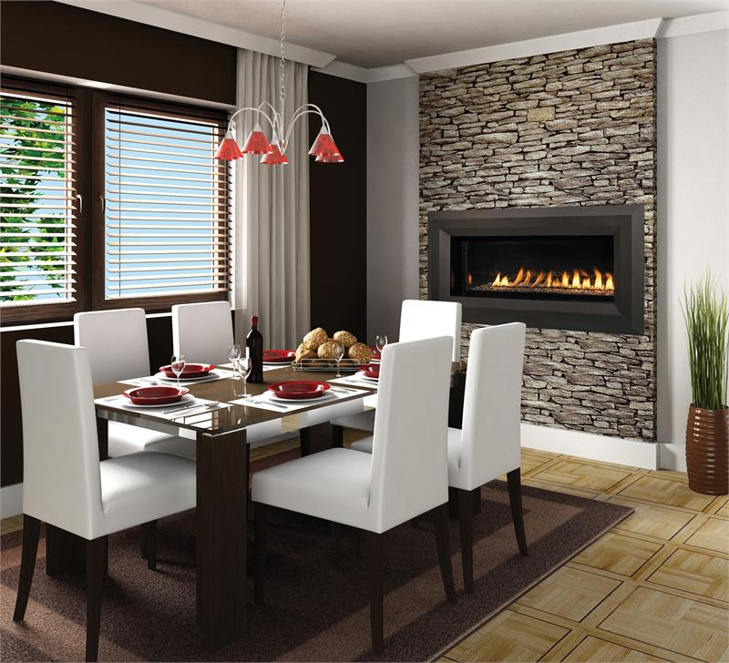 Cool Wall Fireplace Electric Room Design Decor Luxury At: Linear Contemporary Luxury Series Vent-Free Fireplace 43