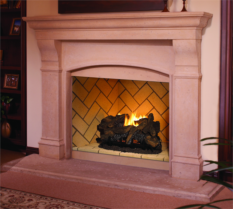 Object moved for Vantage hearth