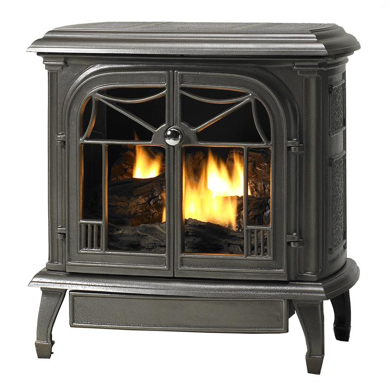 Cis superior cast iron stove vent free gas cast iron stove for Vantage hearth