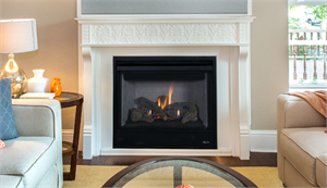 "40"" Direct Vent Complete Superior Gas Log Fireplace DRT2040-C DRT2000"