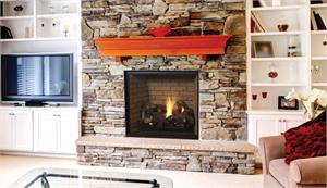 "Direct Vent 45"" Supeior Clean Face Fireplace"