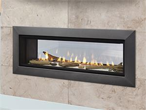 "Majestic Echelon II See Through 36"" Direct Vent Fireplace ECHEL36STIN"